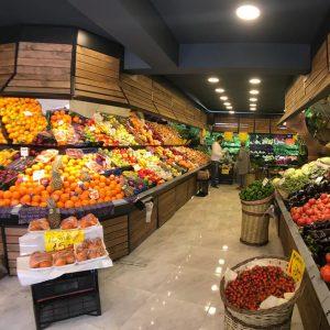 Obst- und Gemüseladen Design