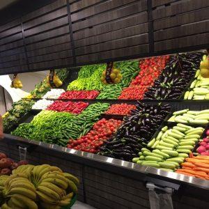 Présentoir De Fruits Et Légumes Mural