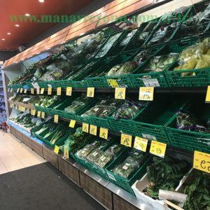Rayons De Fruits Et Légumes À Étages