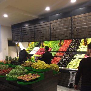 Meyve ve Sebze Reyonları