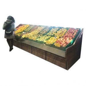 Aynasız Meyve ve sebze rafı