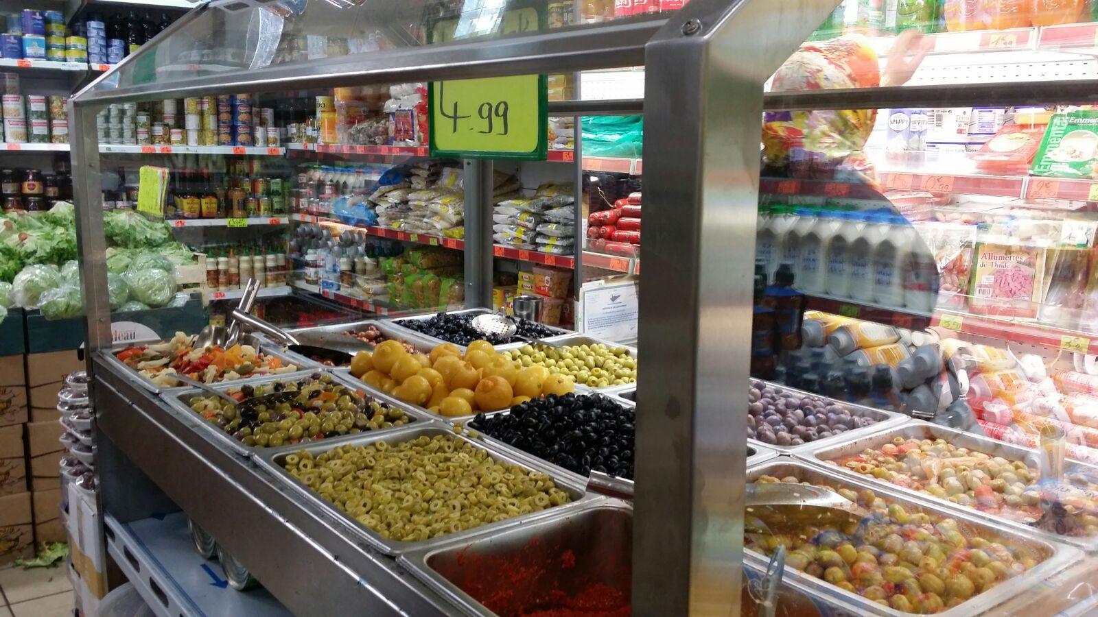 Zeytin Ve SalataBar Tezgahı
